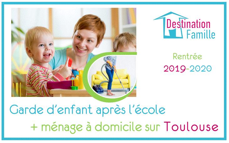 Emploi Garde d'enfant – Aide ménagère sur Toulouse 31000