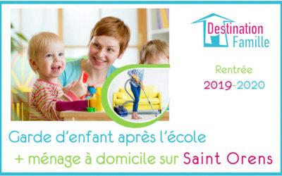 Offre d'emploi Garde d'enfant – Aide ménagère sur Saint-Orens