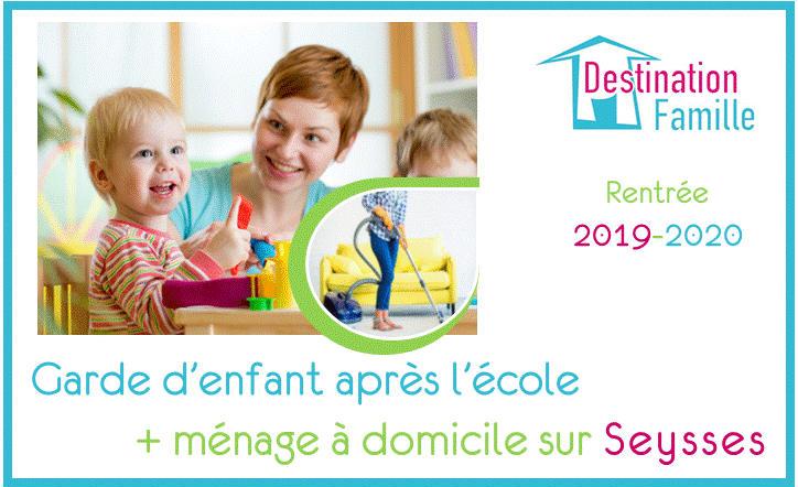 Offre d'emploi Garde d'enfant – Aide ménagère sur Seysses