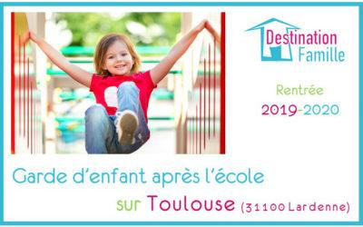 Offre d'emploi Garde d'enfant sur Toulouse Lardenne