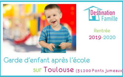Offre d'emploi Garde d'enfant sur Toulouse Ponts Jumeaux