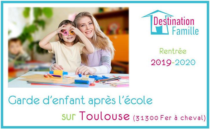 Offre d'emploi Garde d'enfant sur Toulouse Fer à Cheval