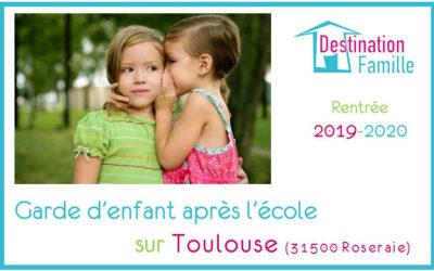 Offre d'emploi Garde d'enfant sur Toulouse 31500 Roseraie