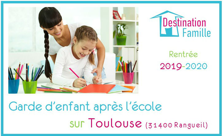 Offre d'emploi Garde d'enfant sur Toulouse Rangueil