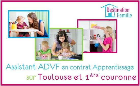 Offre d'emploi ADVF en contrat Pro – Apprentissage