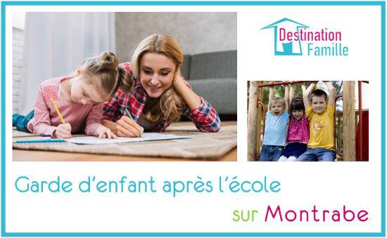 Offre d'emploi Garde d'enfant sur Montrabe