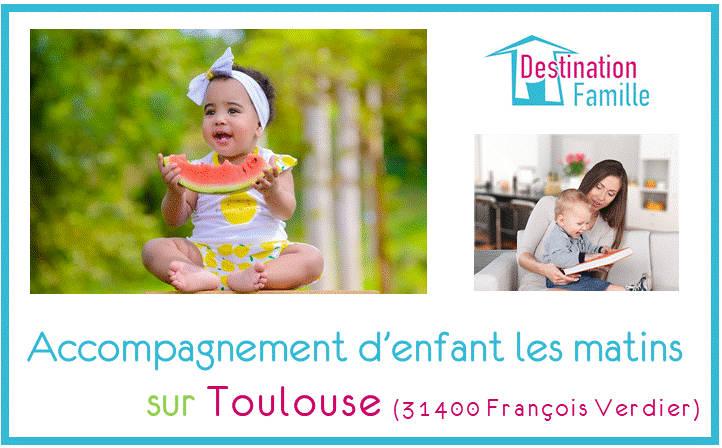 Offre d'emploi Garde d'enfant les matins sur Toulouse 31500 (François Verdier)