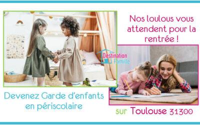 Offre d'emploi Garde d'enfant sur Toulouse 31300