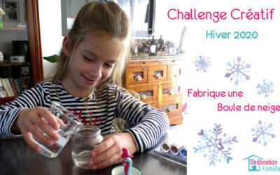 Challenge créatif de l'Hiver 2020