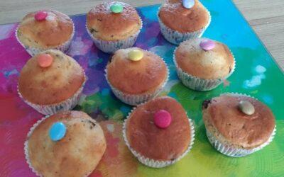 Recette Muffin à la compote de pomme